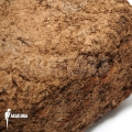 Peat brick soft